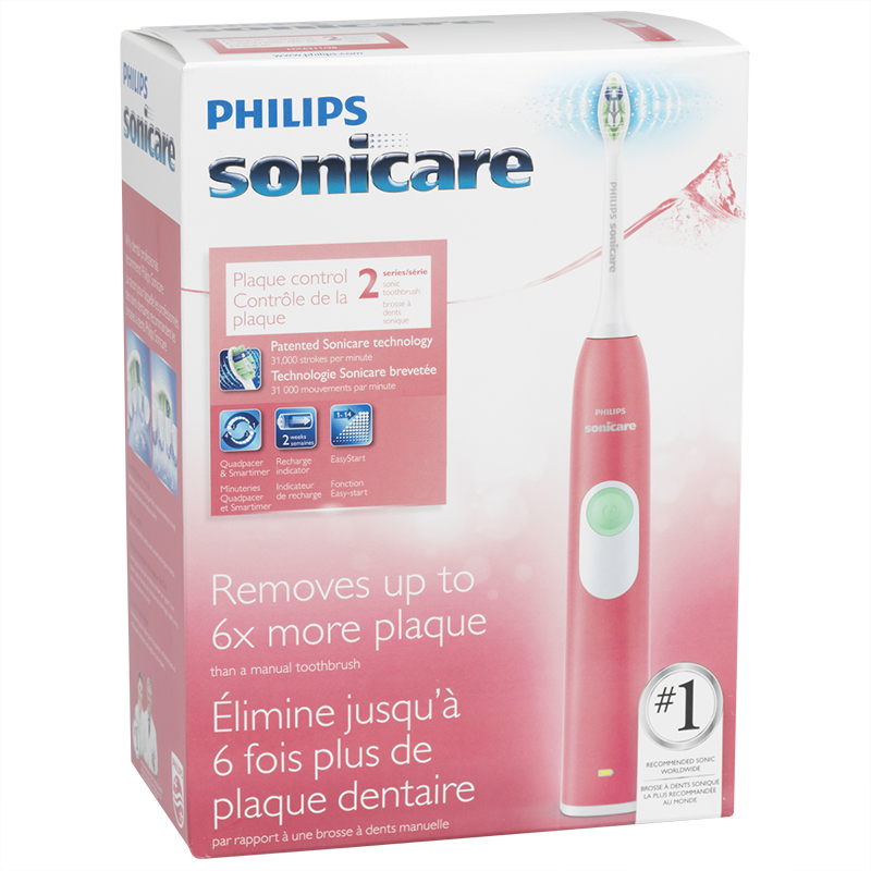 Philips Sonicare 2 Series Plaque Control Rechargeable Toothbrush - HX6211/98