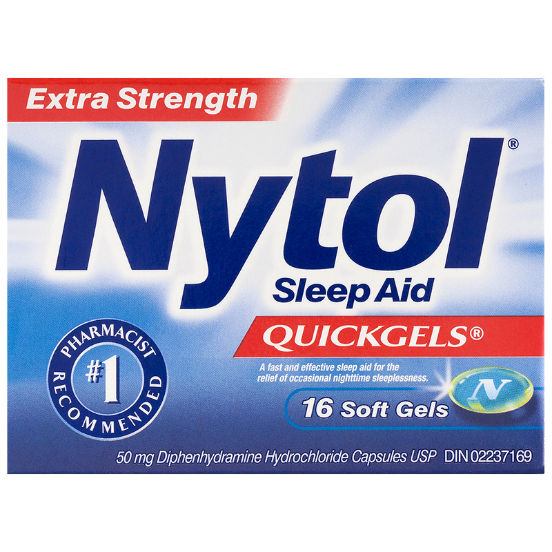 Nytol Extra Strength Sleep Aid Quick Gels - 16's