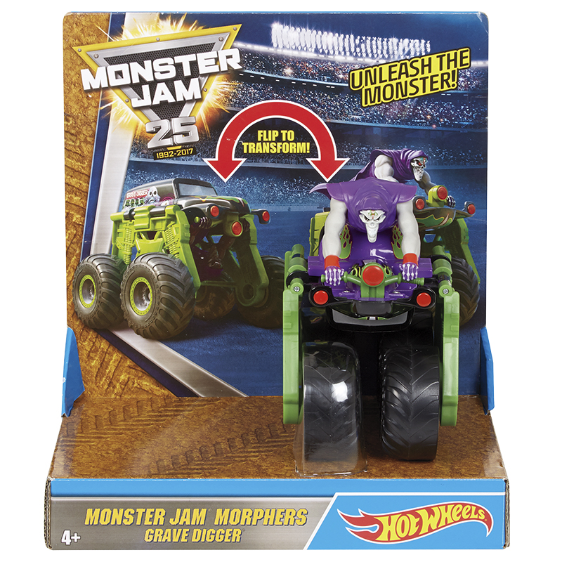 Hot Wheels Monster Jam Morphers - Assorted