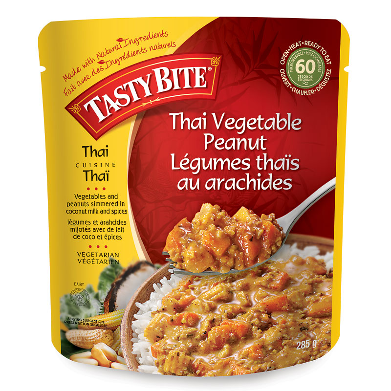Tasty Bite Thai Vegetable Peanut - 285g