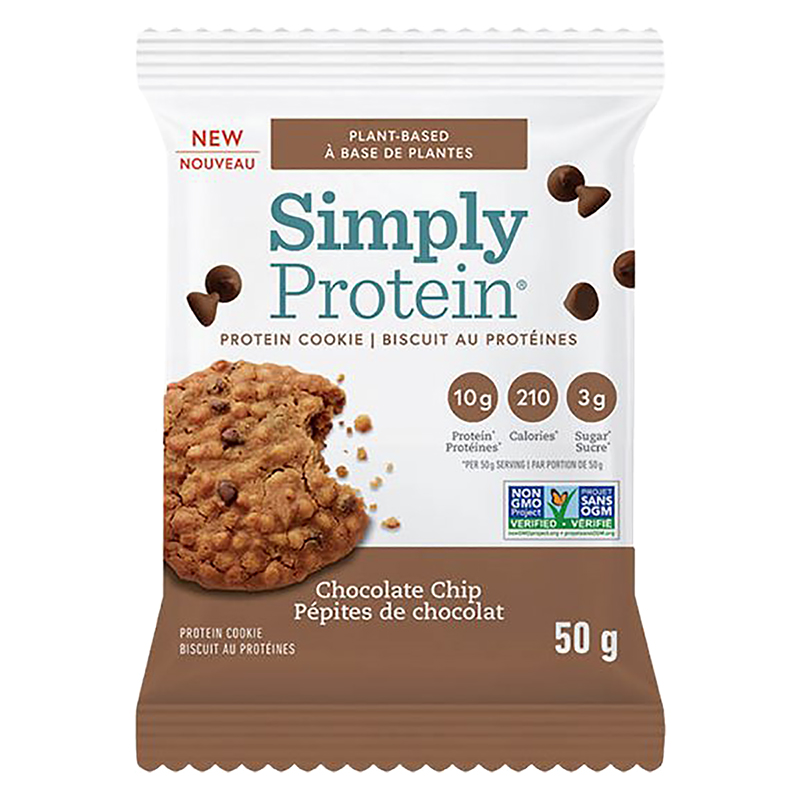 SimplyProtein Cookie - Chocolate Chip - 50g
