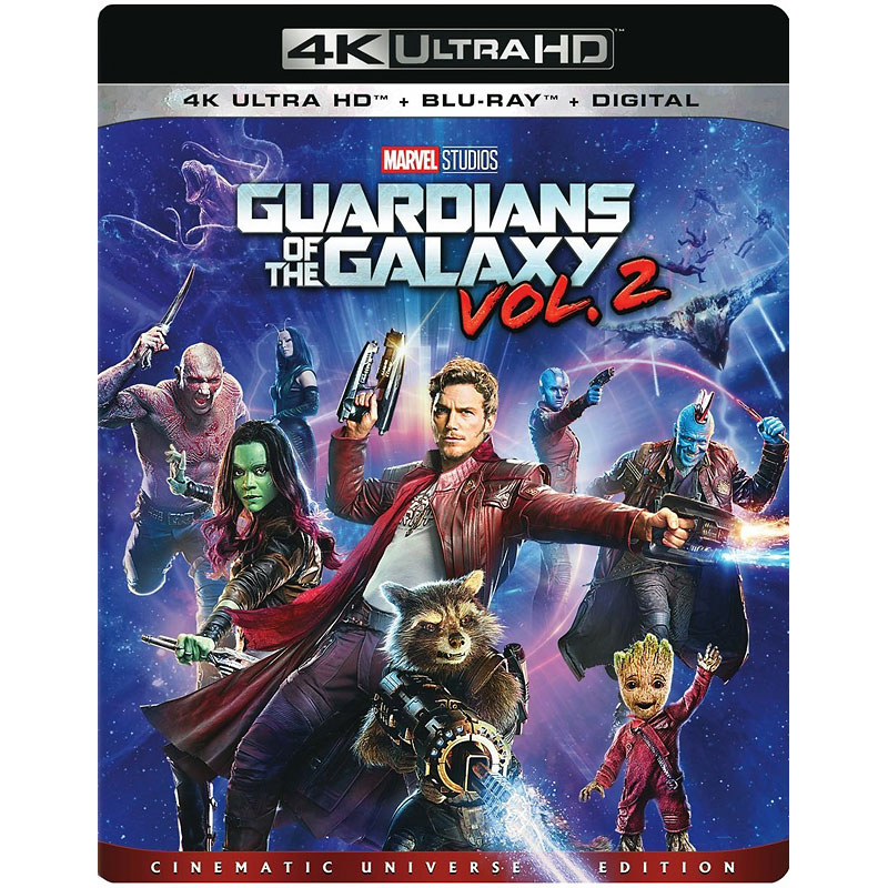 Guardians of the Galaxy: Vol. 2 - 4K UHD Blu-ray