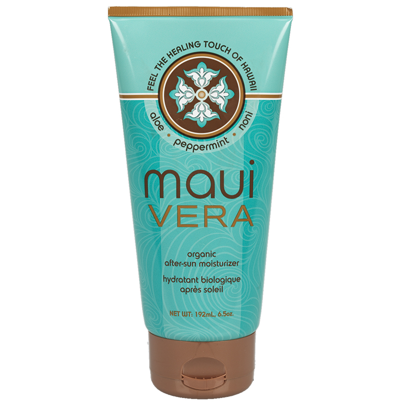 MauiVera Organic After Sun Moisturizer - 192ml