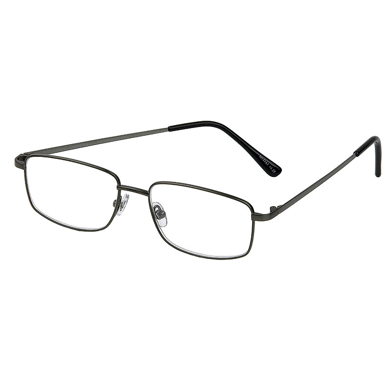 Foster Grant T10 Reading Glasses - Gunmetal - 1.50
