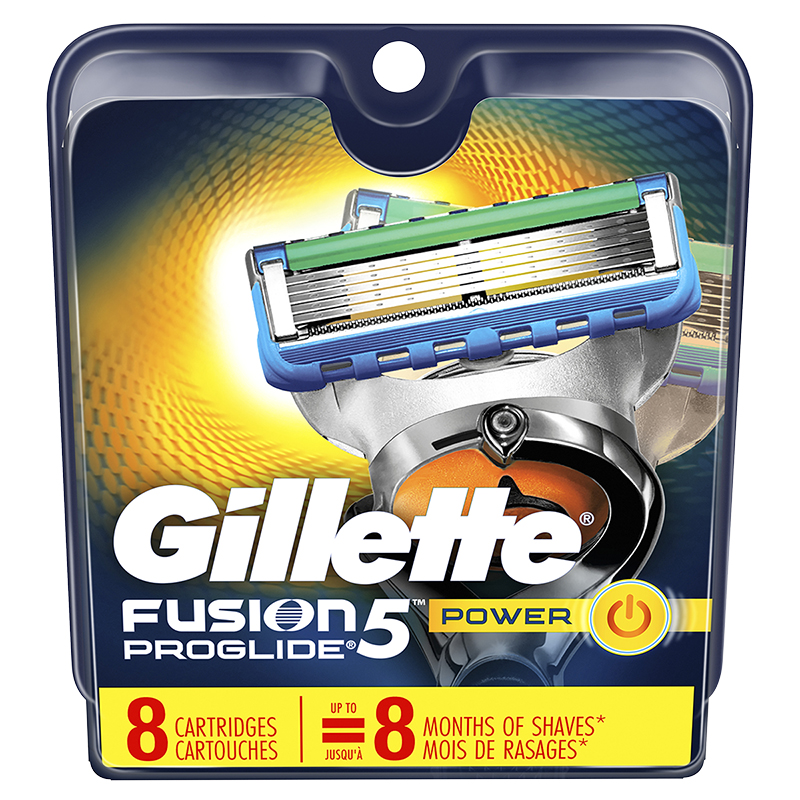 Gillette Fusion5 Proglide Cartridges - 8's