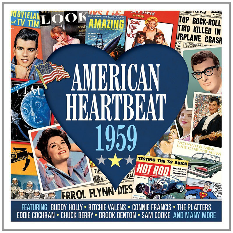Various Artists - American Heartbeat: 1959 - 2 CD