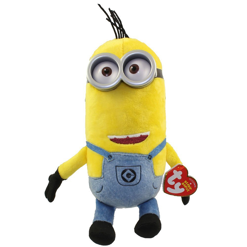 TY Despicable Me Beanie Baby - Minion Tim