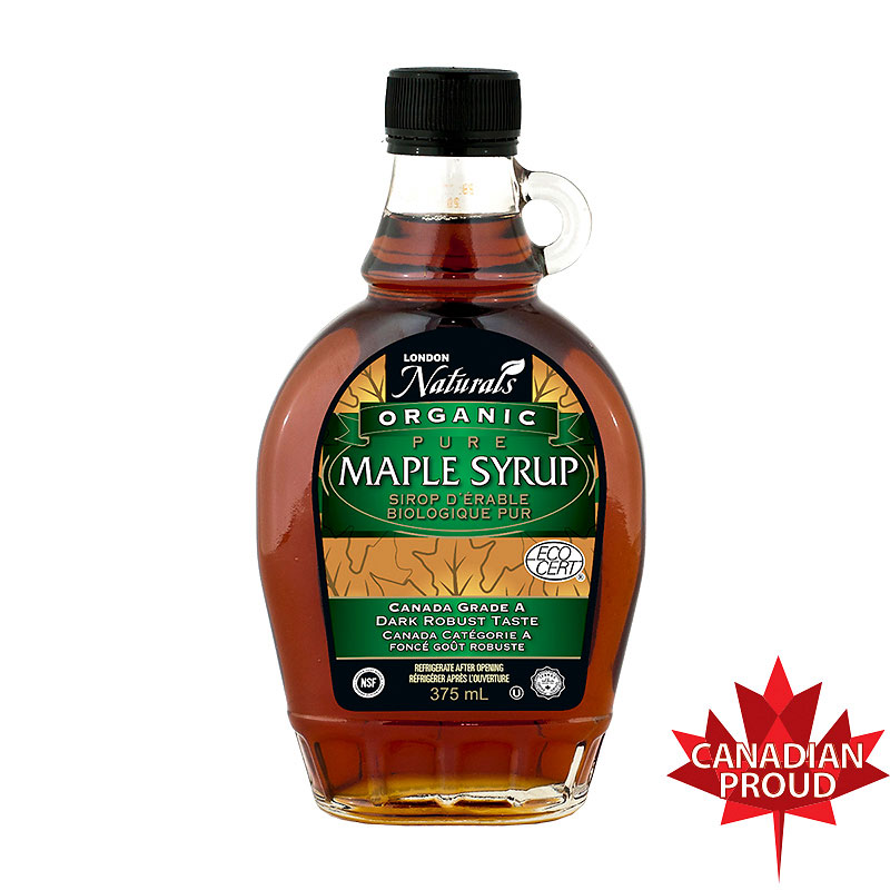 London Drugs Natural Pure Organic No.2 Maple Syrup - 375ml