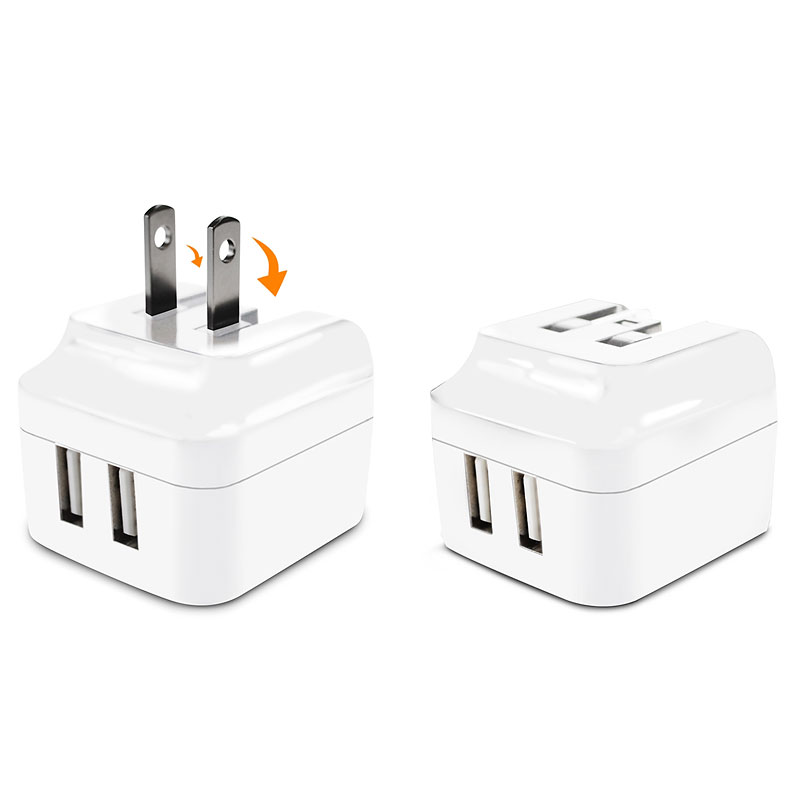 Logiix USB Power Cube II - White - LGX10966