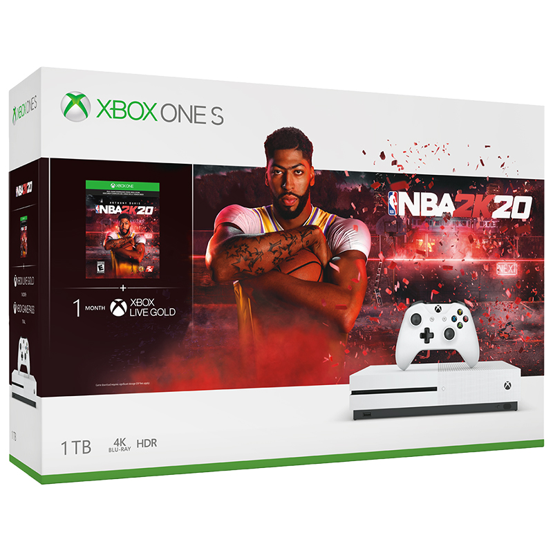 Xbox One S 1TB NBA 2K20 Bundle - 234-00998