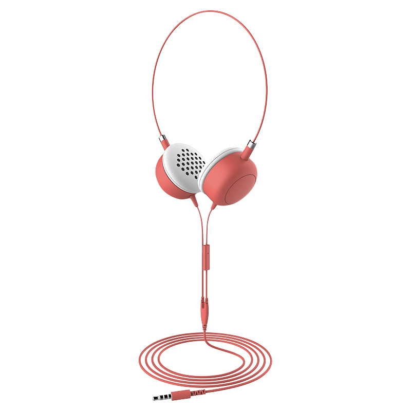 Furo Macarons Headphones - Coral - FT12726