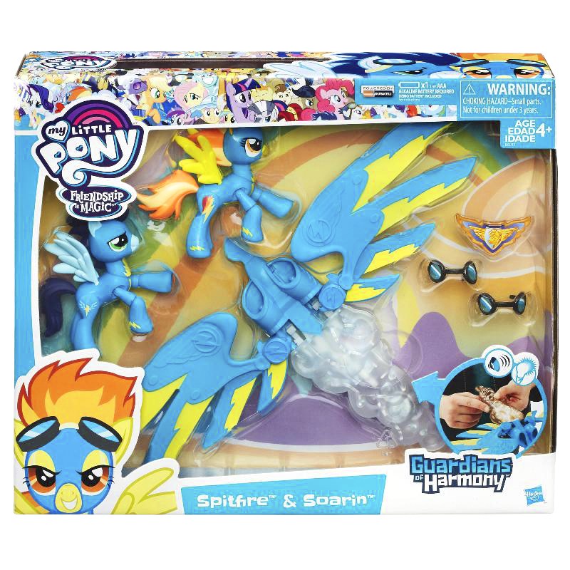 My Little Pony Friendship Magic Spitfire & Soarin Guardians of Harmony