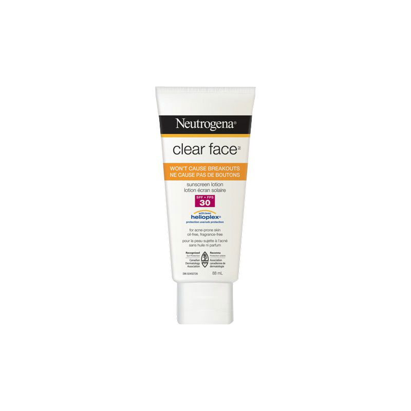 Neutrogena Clear Face Lotion Sunscreen - Broad Spectrum SPF 30 - 88ml