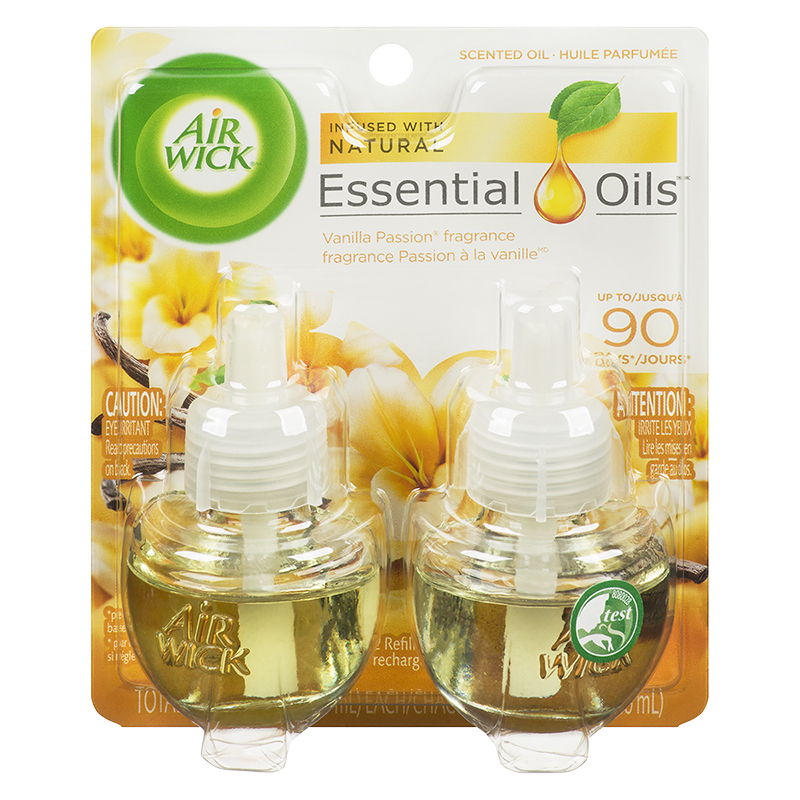 Air Wick Scented Oil Refill - Vanilla Passion - 2 x 21ml