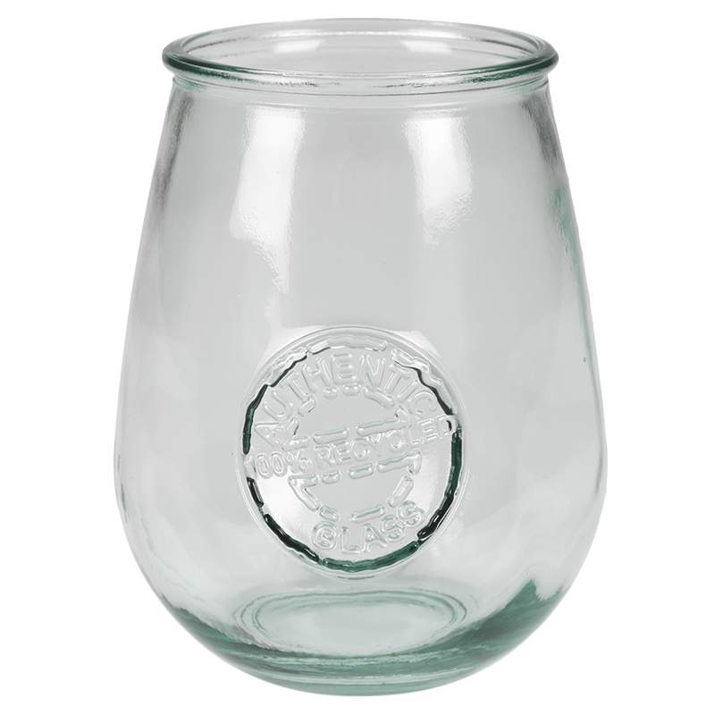 London Drugs Green Glass Wine Glass - 650ml