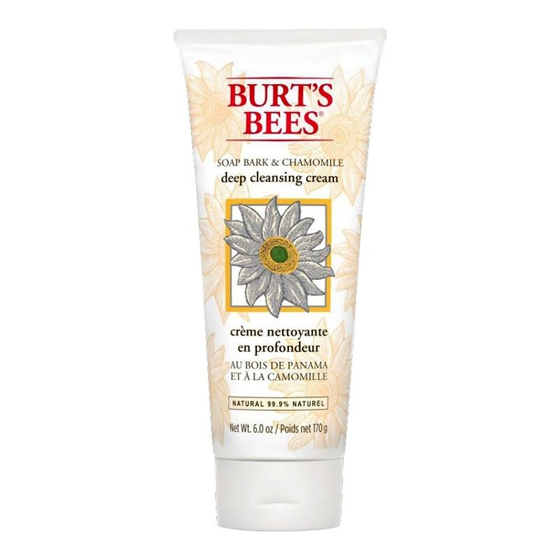 Burt's Bees Soap Bark & Chamomile Deep Cleansing Creme - 170g