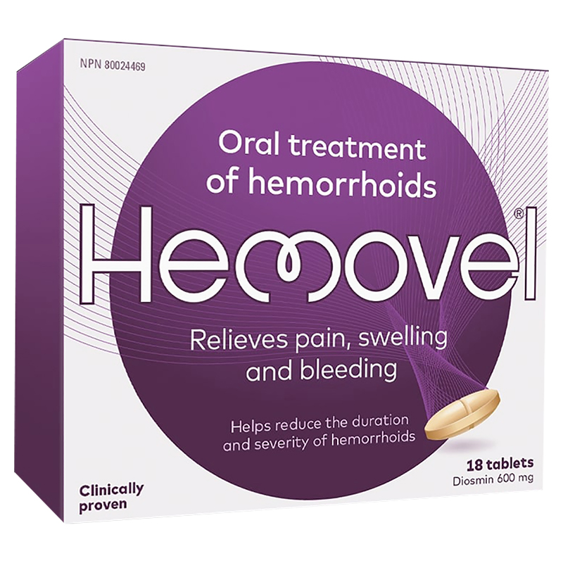 Hemovel Hemorrhoid Treatment - 18's