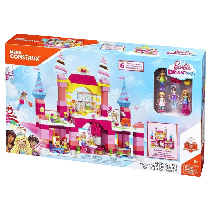 Mega Construx Barbie Candy Castle - FGC51