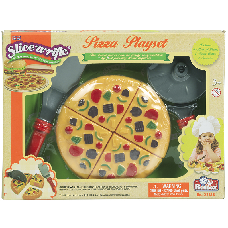 Red Box Slice-a-rific Pizza Playset