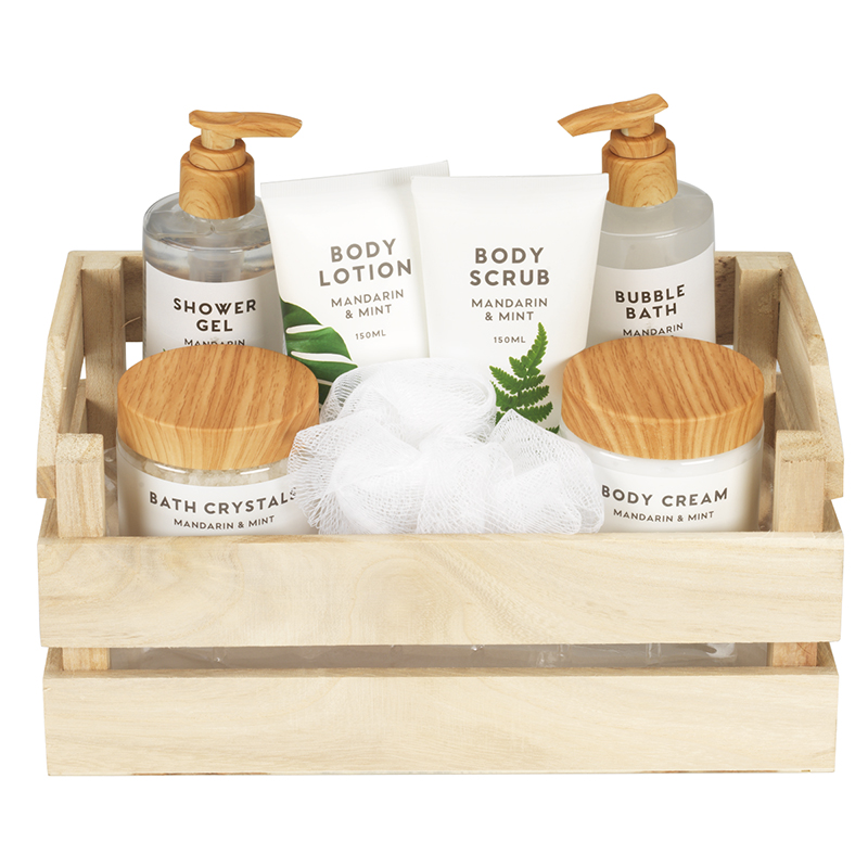 Bare Naturals Beauty Set - Mandarin Mint - 7 piece