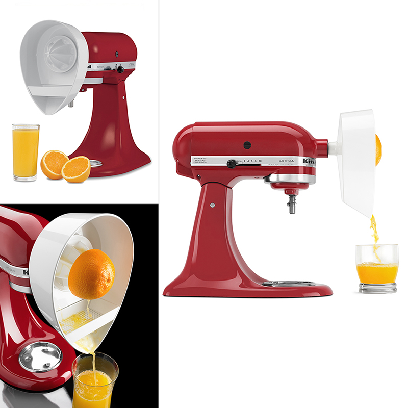 KitchenAid Citrus Juicer Attachment - White - JE