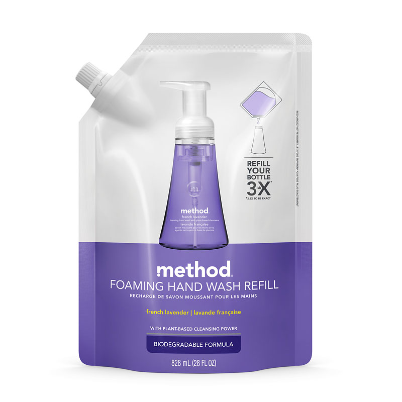 Method Foaming Hand Wash Refill - French Lavender - 828ml