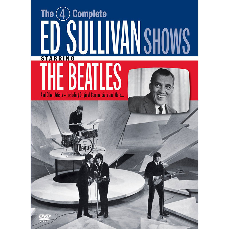 The 4 Complete Ed Sullivan Shows Starring The Beatles - DVD