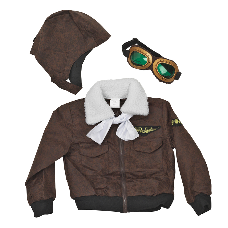 Halloween Aviator Costume - Assorted