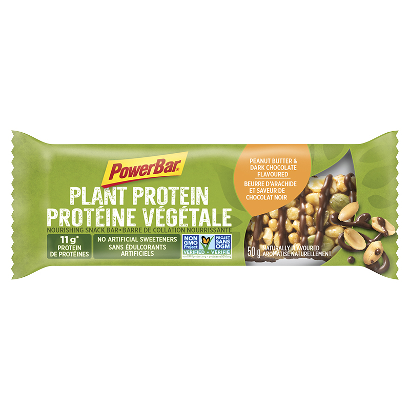 Powerbar Plant Protein - Peanut Butter & Dark Chocolate - 50g