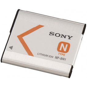 Sony NPBN1 Rechargeable Battery Pack for select W and TX Series cameras