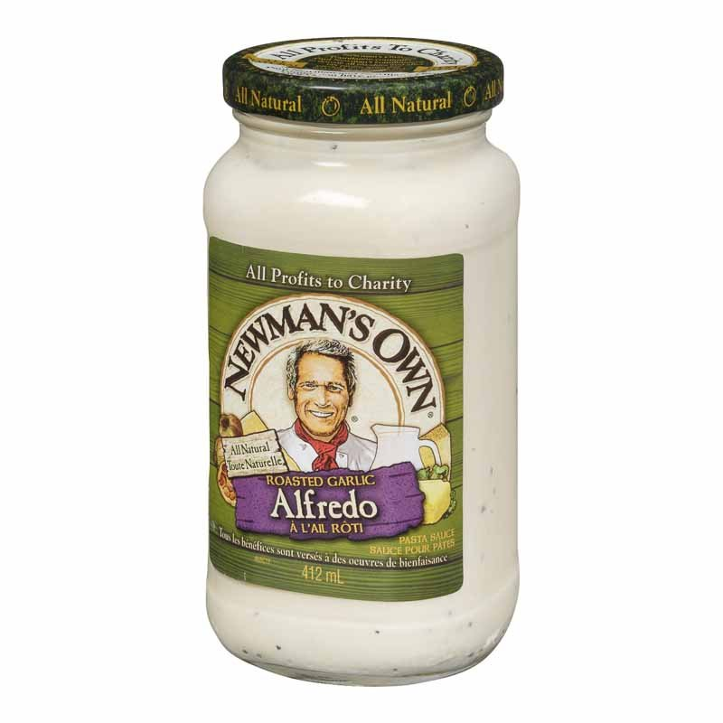 Newman's Own Garlic Alfredo Sauce - 412ml
