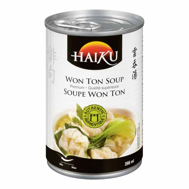 Haiku Won Ton Soup - 398ml