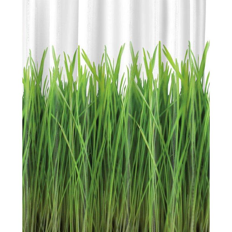Splash Home Grass Shower Curtain