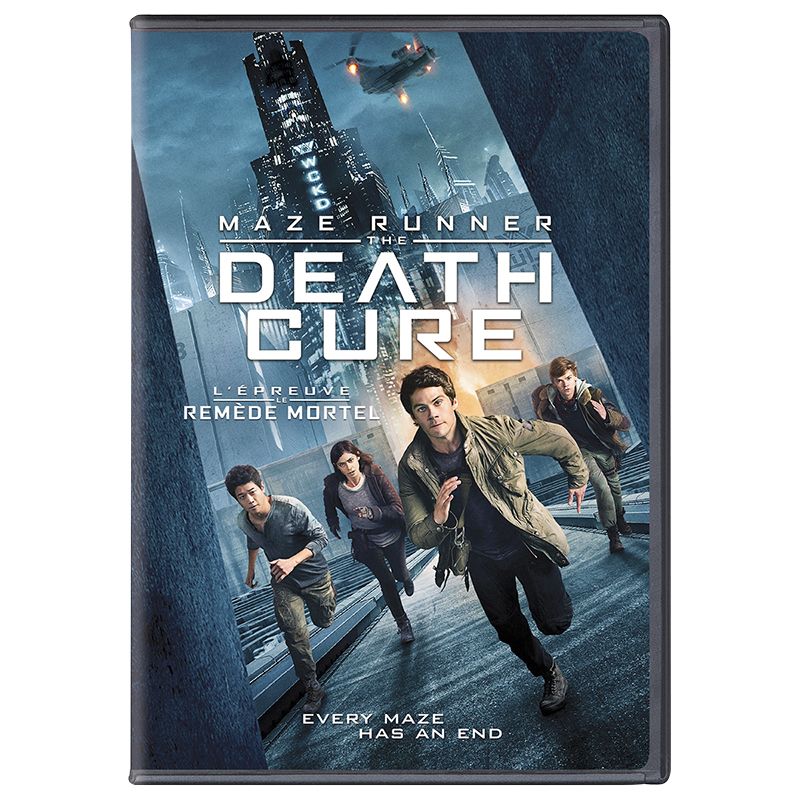 Maze Runner: The Death Cure - DVD