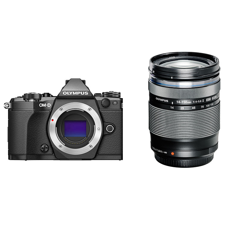 Olympus E-M5 MKII Body with 14-150mm Lens - PKG #9705778