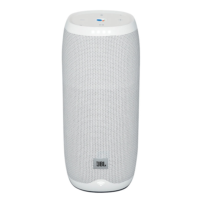 JBL Link 20 Voice-Activated Portable Speaker with Google Assistant - White  - JBLLINK20WHTCA