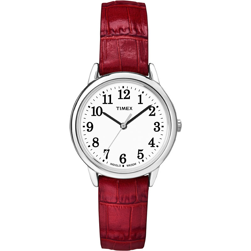 Timex Easy Reader Watch - Red/Silver - TW2P68700GP