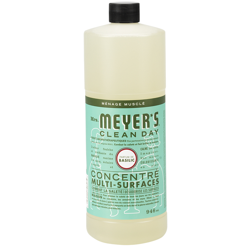 Mrs. Meyer Multi-Surface Concentrate Cleaner - Basil - 946ml