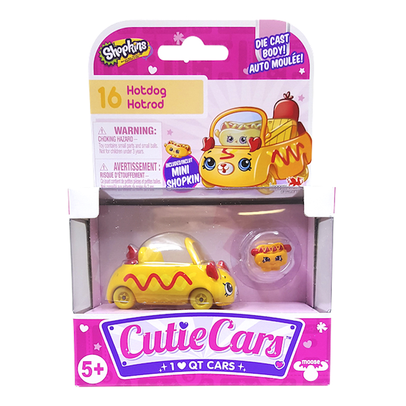 Shopkins Cutie Cars - Assorted