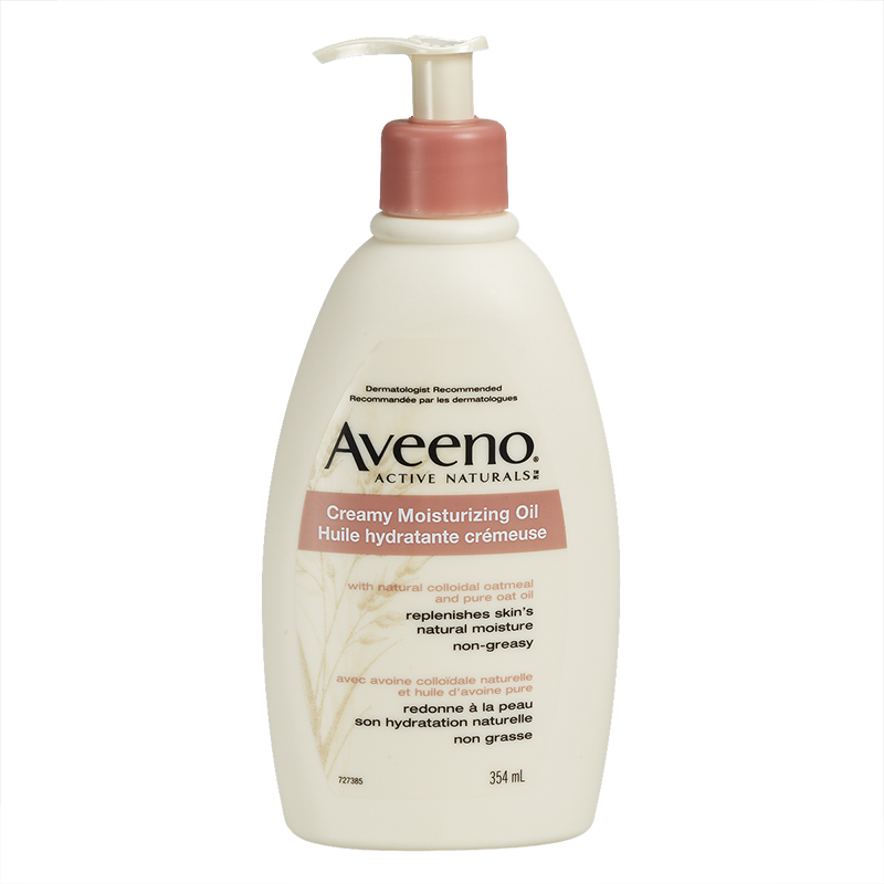 Aveeno Creamy Moisturizing Oil - 354ml