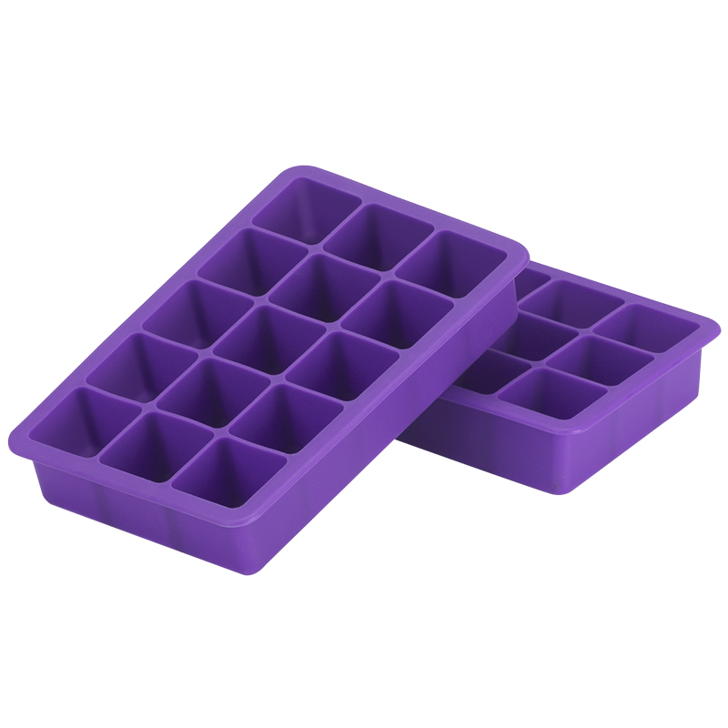 London Drugs Silicone Ice Cube Tray - 2 pack - Assorted