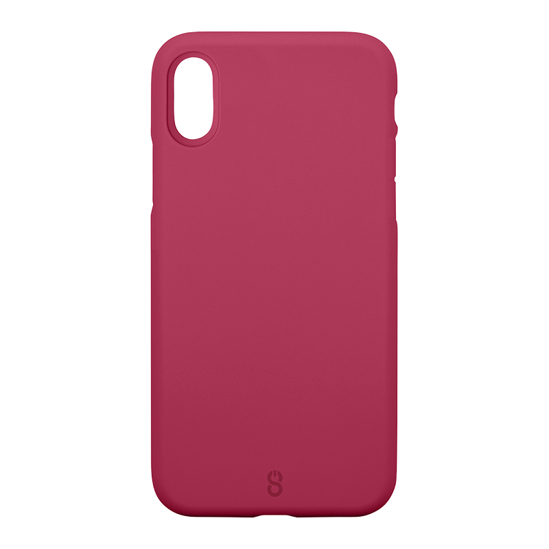 Logiix Colour Shield Case for iPhone X - Rose - LGX12717