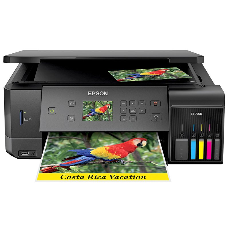 Epson Expression Premium EcoTank ET-7750 Wide-format Supertank All In One Photo Printer