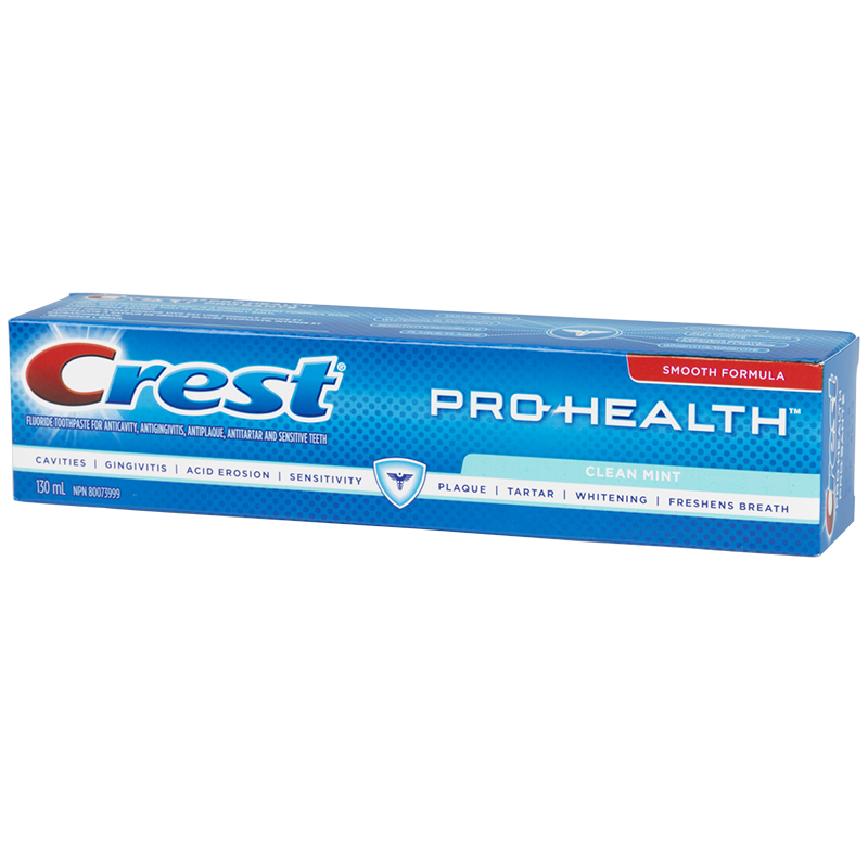 Crest PRO-Health Smooth Formula Toothpaste - Clean Mint - 130ml