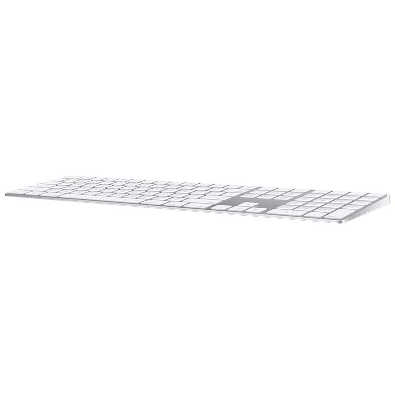 Apple Wireless Magic Keyboard with Numeric Keypad - White MQ052LL