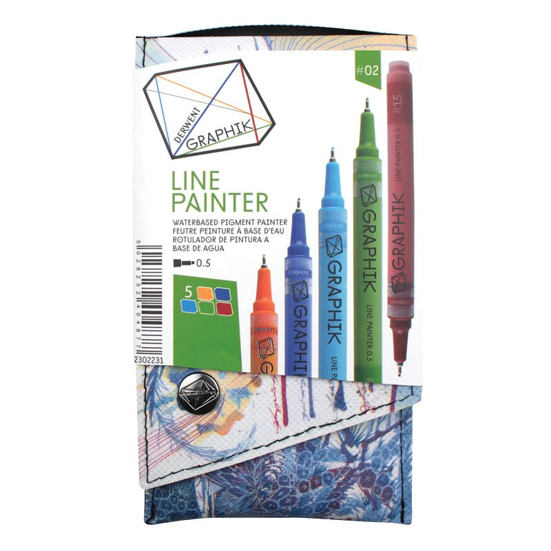Derwent Graphik Line Painter - Assorted - 4 pack