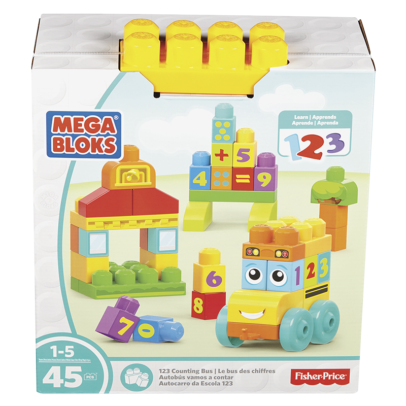 Mega Bloks 123 Counting Bus Set