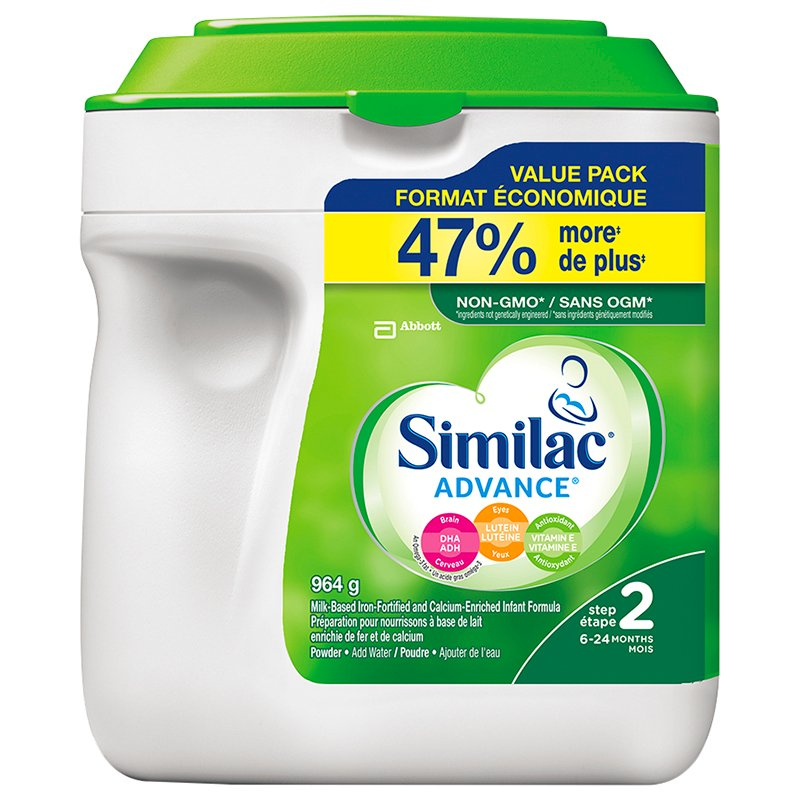 Similac Advance Step 2 - Powder - 964g