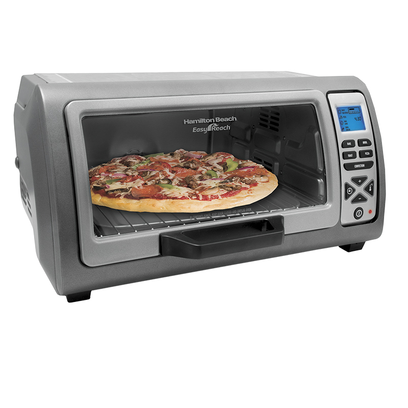 Hamilton Beach Easy Reach Digital Oven - 6 slice – 31128C