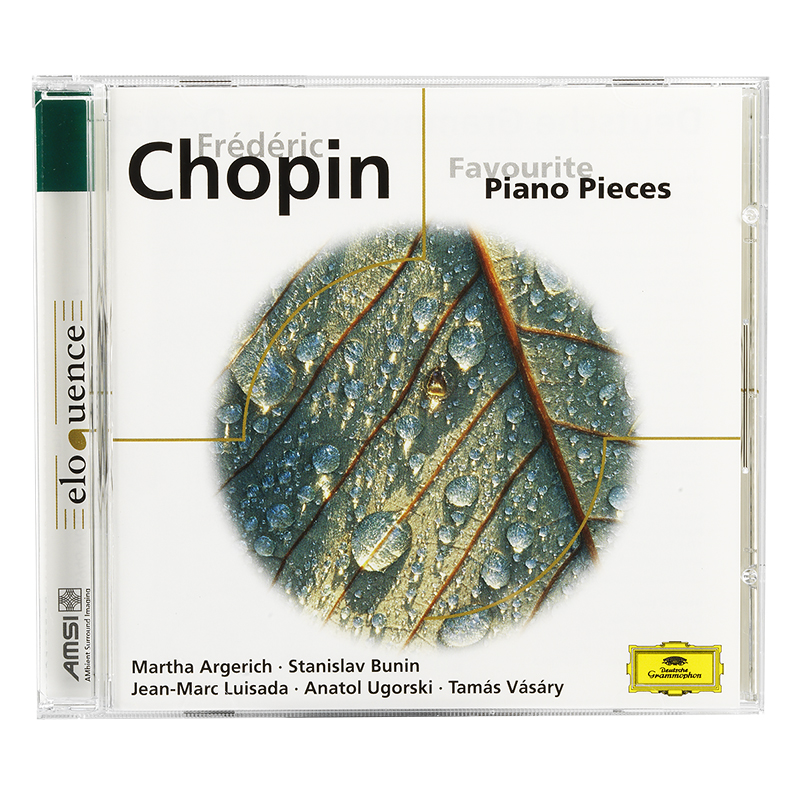 Chopin - Favourite Piano Pieces - CD
